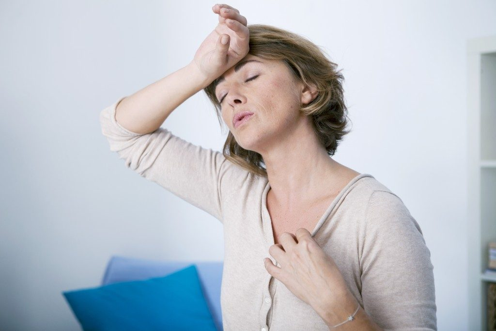 Симптомы менопаузы Симидона