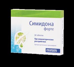 симидона форте, препарат Симидона, cimidona симидона что такое климакс менопауза лечение климакса менопаузы