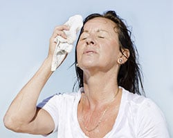 потливость, климакс, менопауза