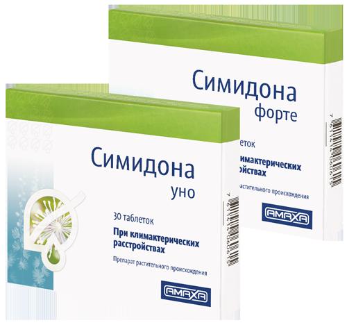 Симидона - препарат для лечения климакса
